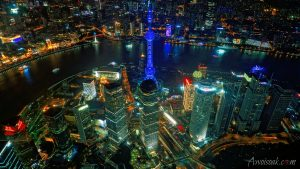 Shanghai Skyline from Shanghai Tower