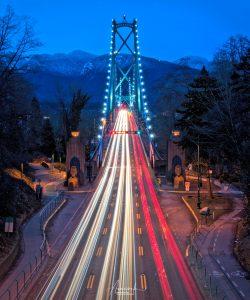 Lions Gate Bridge in Vancouver