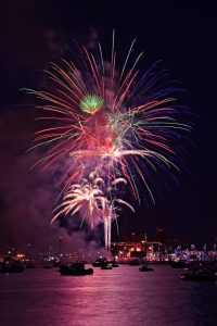 Fireworks in Canada 150 (Vancouver)