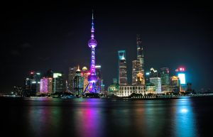 Shanghai's skyline from The Bund