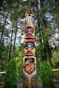 Totem in Vancouver
