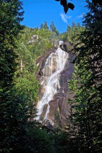 The Shannon Falls, Squamish