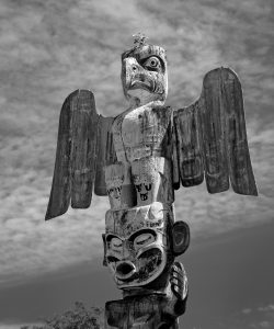 Totem Poles in Alert Bay