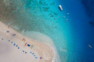 Kahe Island with drone